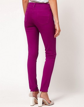 Image 2 ofASOS PETITE Exclusive Skinny Jeans In Wild Astor