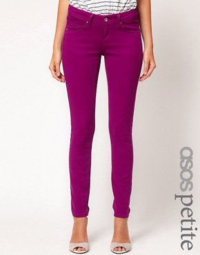 Image 1 ofASOS PETITE Exclusive Skinny Jeans In Wild Astor