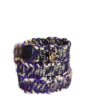 Image 1 ofDisney Couture Exclusive To ASOS Dr X Silk Wrap Bracelet