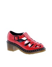 Dr Martens - Parade Eleanor - Sandali con tacco con cinturino a T