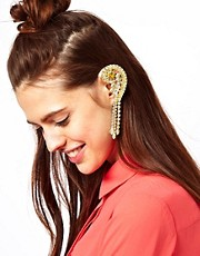 ASOS Jewel Earcuff with Swarovski Stones