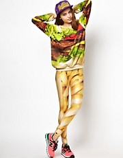 Mr. Gugu &amp; Miss Go Fries Leggings