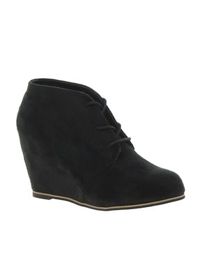 Image 1 ofRiver Island Rango Wedge Boots