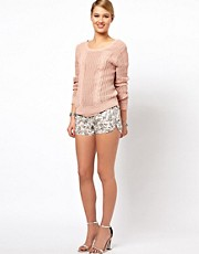 Selected Dina Paisley Shorts
