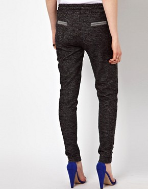 Image 2 ofBy Zoe Melange Sweat Pant with Tie Waist