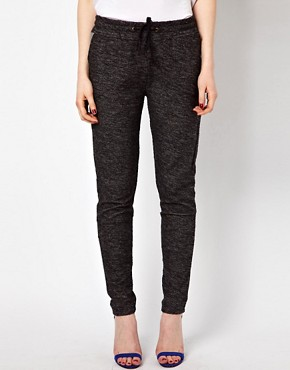 Image 4 ofBy Zoe Melange Sweat Pant with Tie Waist