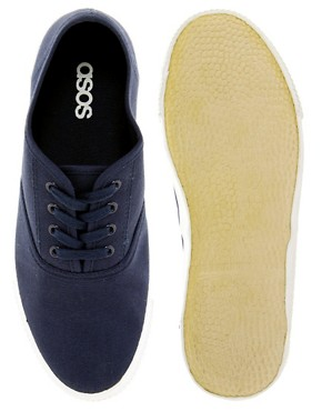 Image 3 ofASOS Oxford Plimsolls
