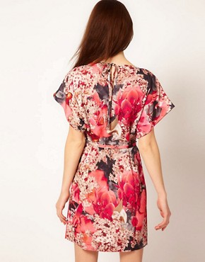 Image 2 ofTed Baker Digital Floral Dress