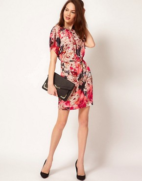 Image 4 ofTed Baker Digital Floral Dress