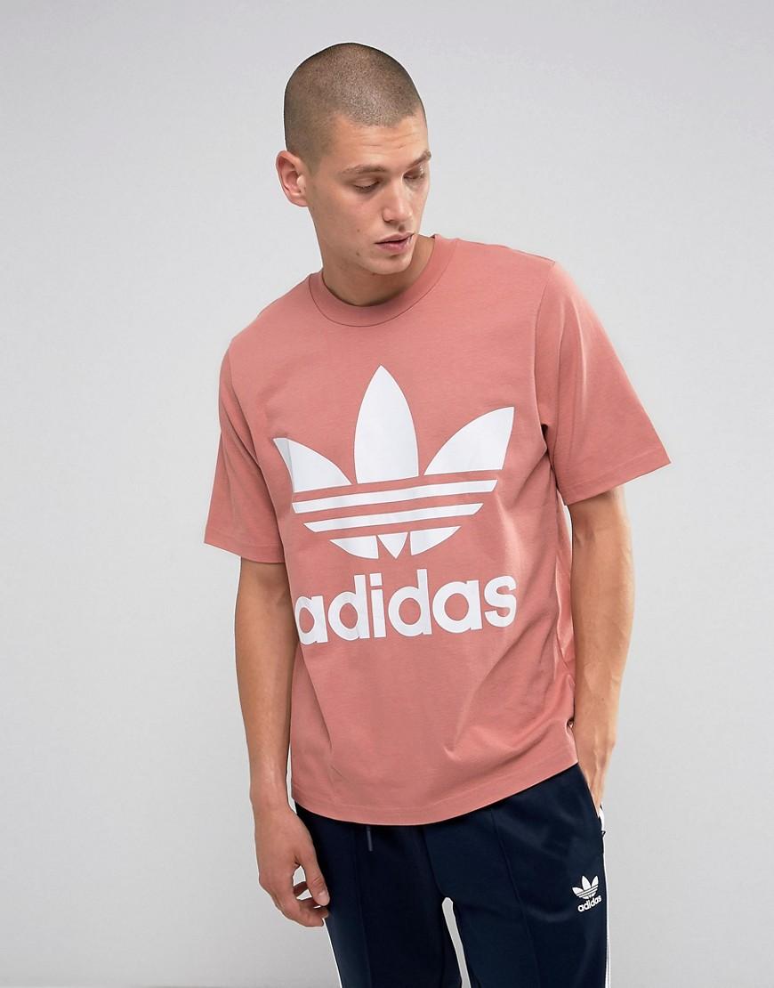 adidas Originals Boxy T-Shirt In Pink BQ1994 - Pink