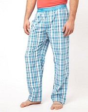 Calvin Klein Check Woven Lounge Pants