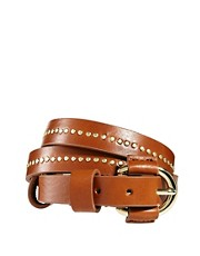 Whistles Richelle Stud Leather Belt