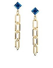 ASOS Pointed Link Drop Earring