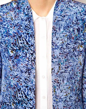 Image 3 ofDenham Printed Clean Blazer