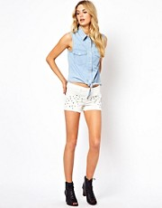 Vila Studded Shorts