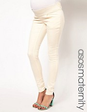 ASOS Maternity Elgin Skinny Jean in Ecru