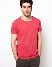 Farah Vintage T-Shirt in Slub Jersey