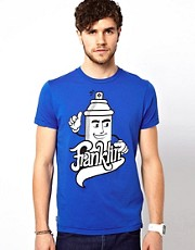 Franklin &amp; Marshall T-Shirt with Spraycan Graphic