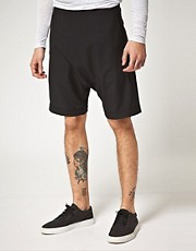 Unconditional Double Zip Wrap Shorts