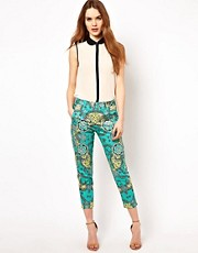 French Connection Woodprint Trouser