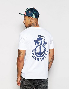 Carhartt Anchor T-Shirt With Back Print