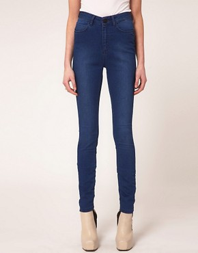 Image 1 ofJust Female High Waist Skinny Jeans