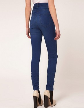 Image 2 ofJust Female High Waist Skinny Jeans