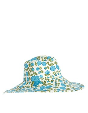 Image 4 ofASOS Floral Floppy Hat