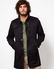 G Star Trench Coat Doonray Dock Twill