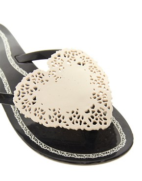 Image 2 ofMelissa Harmonic Heart Flip Flops