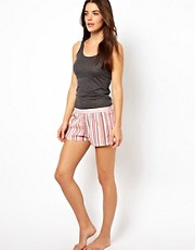 Calvin Klein Woven Stripe PJ Shorts