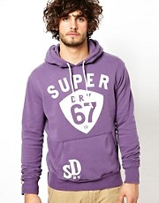 Superdry Hoodie With 67 Print