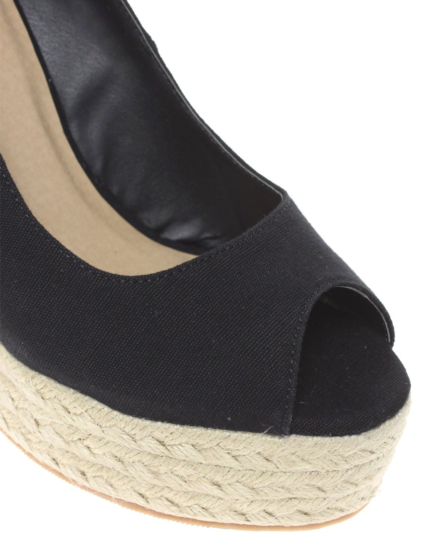 Image 3 of ASOS PENNY Wedges with Peep Toe