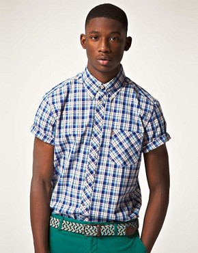 Image 1 of Ben Sherman Heritage Short Sleeve Check Shirt