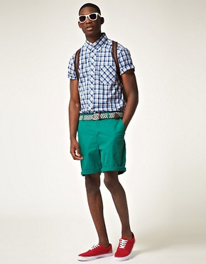 Image 4 of Ben Sherman Heritage Short Sleeve Check Shirt