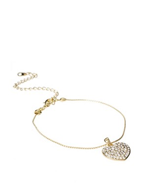 Image 1 ofLove Rocks Heart Charm Bracelet
