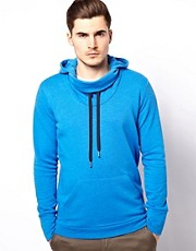Diesel Hoodie Cowl Neck Serial
