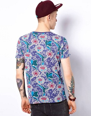 Image 2 ofASOS T-Shirt With All Over Floral Print