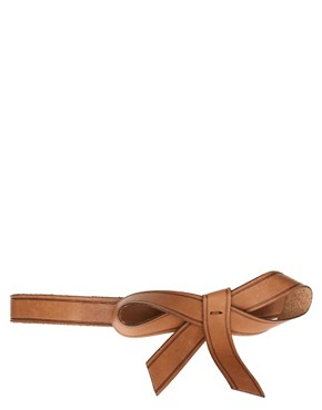 Image 1 ofPieces Henry Leather Bow Belt