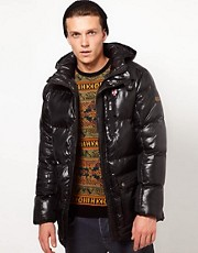 Puffa Jacket with Hood