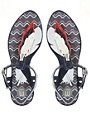 Image 3 ofMelissa Lua Leaf Flat Sandals