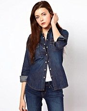 Levi&#39;s - Camicia di jeans stile western