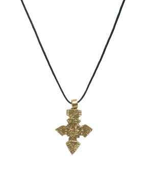Image 1 ofMade Indi Cross Pendant Necklace
