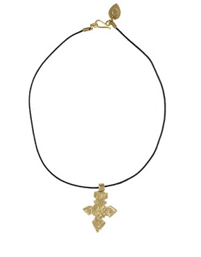 Image 2 ofMade Indi Cross Pendant Necklace