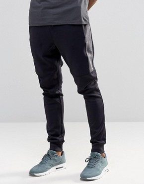 River Island Joggers In Navy