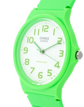 Image 3 ofCasio Watch MQ-24CC-3BEF with Green Analogue Dial and Green Resin Strap