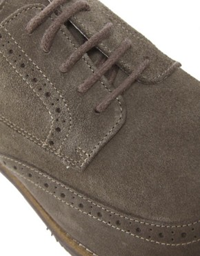 Image 2 of Selected Homme Doker Suede Brogues
