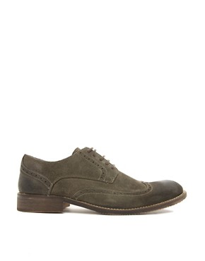 Image 4 of Selected Homme Doker Suede Brogues