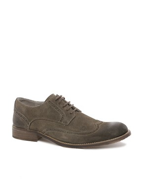 Image 1 ofSelected Homme Doker Suede Brogues