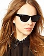 Image 3 ofRay-Ban Black Larami Small Frame Sunglasses